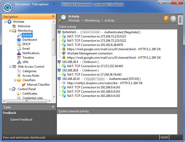 wingate proxy server 6.6.3 gratuit