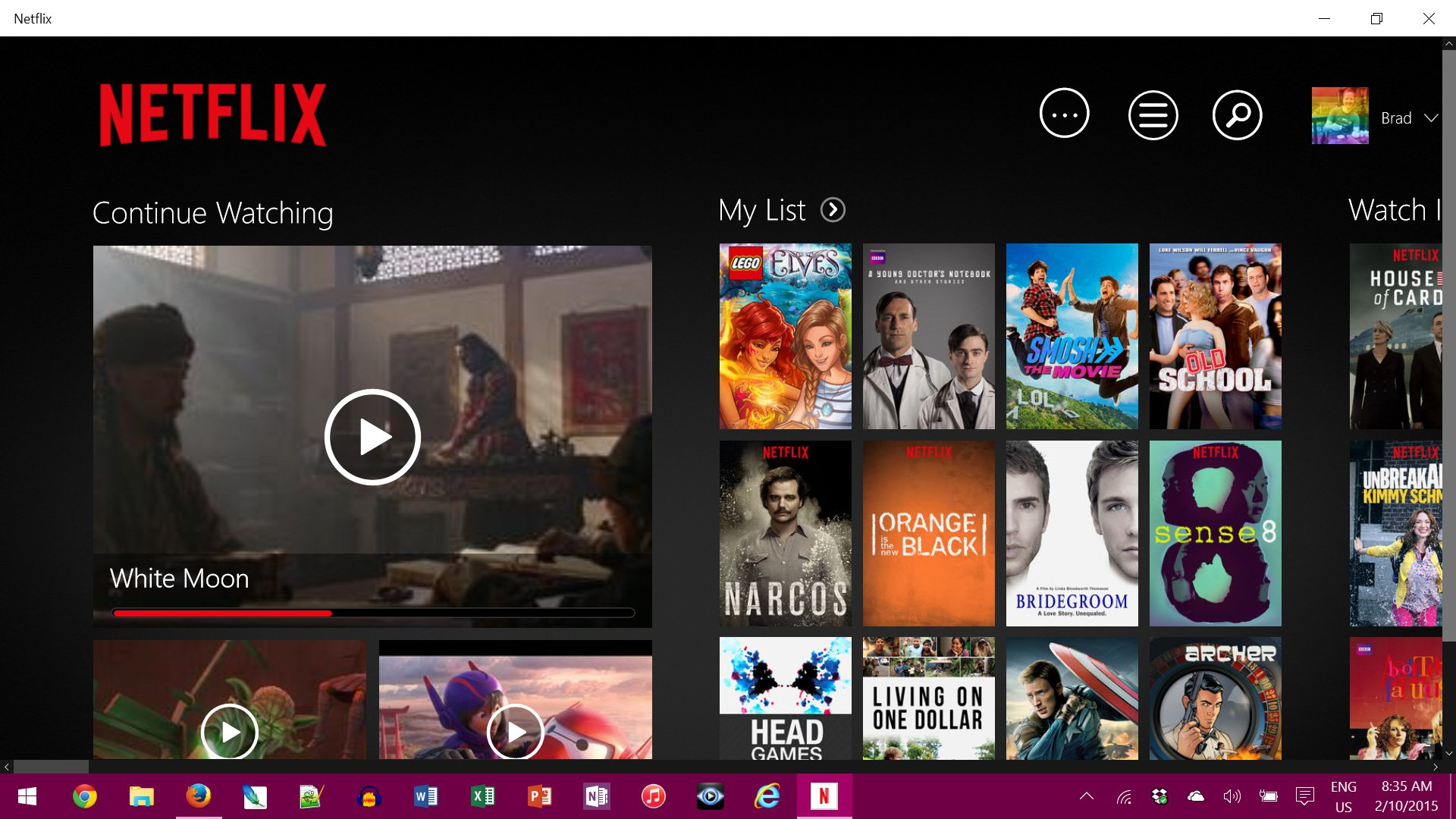 <b>Netflix</b> - <b>Windows</b> <b>8</b> / 10 <b>App</b> - Download - CHIP