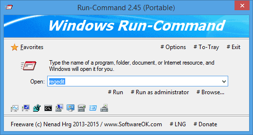 how to run a command on a pc